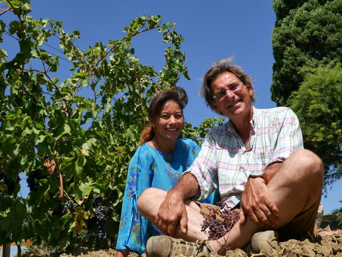 С женой Клаудией